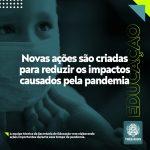 Secretaria de Educação de Três Rios cria ações para reduzir os impactos causados pela pandemia