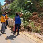 Defesa Civil e Diretoria de Recursos Minerais realizam vistoria em pontos críticos de encostas em Três Rios