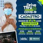 Covid-19: Prefeitura abre cadastro para imunização de idosos entre 67 e 70 anos