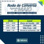 Prefeitura de Três Rios realiza rodas de conversa terapêuticas através das UBS