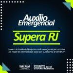 Governo do estado do Rio oferece auxílio emergencial para cidadãos em estado de vulnerabilidade social com a pandemia de COVID-19