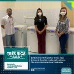 Combate à Covid: Hospital de Clínicas Nossa Senhora da Conceição recebe quatro câmaras frias para armazenamento de imunizantes