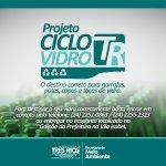 Prefeitura de Três Rios regulamenta Programa Ciclo Vidro TR